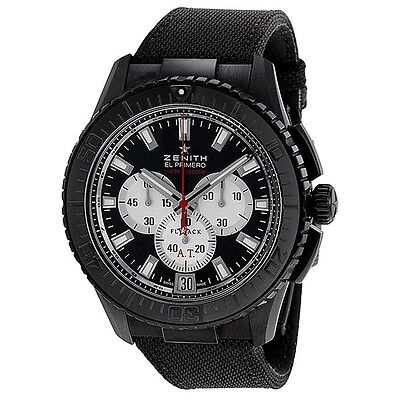 Zenith El Primero Stratos Flyback Striking10th Black Alchron 24.2061.4057/67.C70