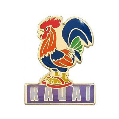 KC Hawaii Lapel Hat Pin Kauai Rooster ()