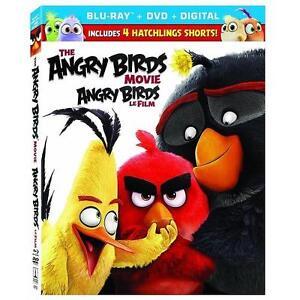 NEW BLU RAY Angry Birds Movie MOVIES - BLURAY + DVD + DIGITAL COPY 100521751