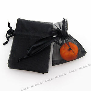 50pcs-120295-NEW-Wholesale-Black-Organza-Wedding-Pouch-Gift-Bags-Fit-DIY-LC