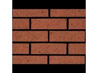 NEW Ibstock 65mm Atlas Stratford Red Dragface Bricks (Pk 400) 4 packs available