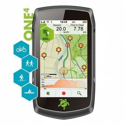 ✅ GPS TEASI one4 para bicicleta, senderismo, esquí, navegación en barco, e-Bike