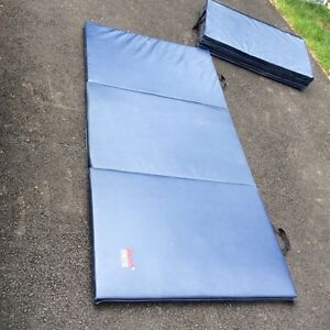 Exercise mats, fold for easy storage