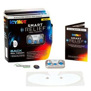 Icy-Hot-Smart-Relief-Tens-Back-Muscle-Joint-Pain-Therapy-Unit-BRAND-NEW-in-BOX