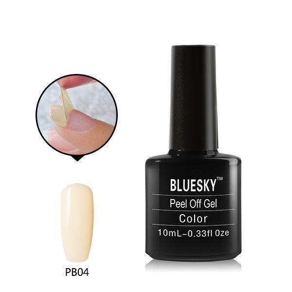 Bluesky+PEEL+OFF+SERIES+PB+04+UV%2FLED+Soak+Off+Gel+Nail+Polish+10ml+Free+Postage