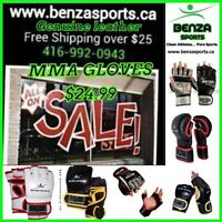 BENZA MMA GLOVES ON SALE STARTING AT $36.99 + FREE SHIPPING!!