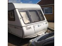 Bailey Auvergne caravan 5-6 berth