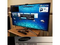 """Samsung UE40ES7000 40"""" hd smart 3d built in camera"""