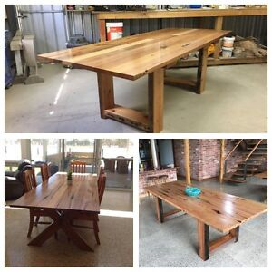 Recycled hardwood dining tables Mount Gambier Grant Area Preview