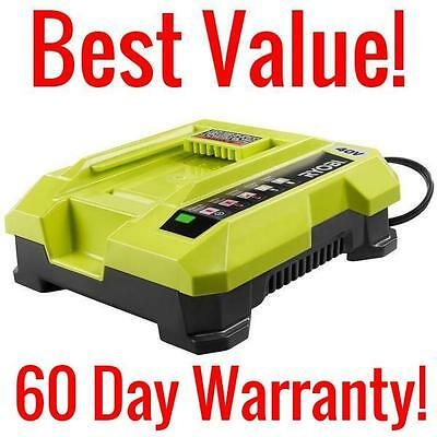 Ryobi Op401 40 Volt Lithium Ion Battery Charger 40V Replacement Lawnmower Op401a