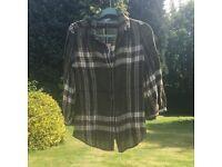 Burberry Brit plaid shirt