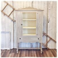 Beautifully Refinished Linen/Clothes/Shoe Storage