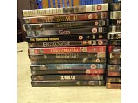 a good selection DVDs