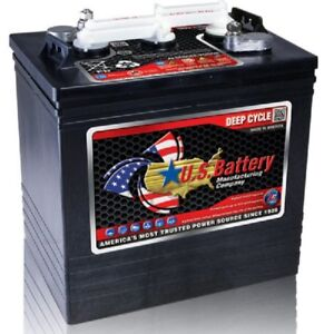 Batterie Transpalette 6 Volts deep cycle Neuf Golf car battery