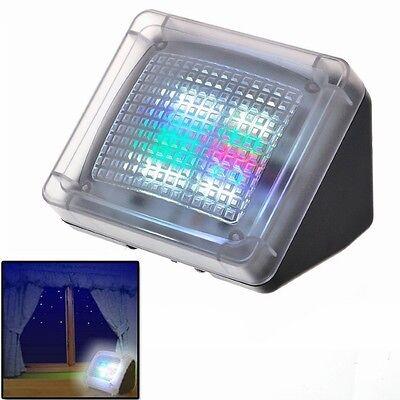 Dummy LED Fernseh Simulator TV Einbruchschutz Neu Home Security Attrappe Fake TV