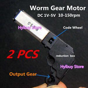 1 5v motor ebay for Small worm gear motor