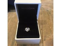 Pandora heart ring - £20