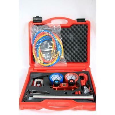 Wärmepumpen Klimaanlage (Rothenberger Klimaanlage Wärmepumpe Werkzeug Set I Rohrabschneider Bördelgerät)