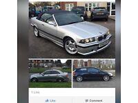 BMW E36 CABRIOLET AUTO 328 2.5 M3