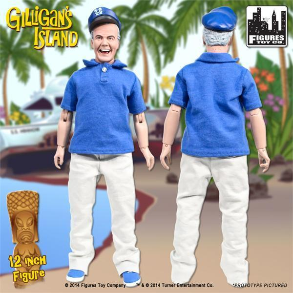 GILLIGANS ISLAND ;  THE SKIPPER, 8 INCH ACTION FIGURE NEW IN