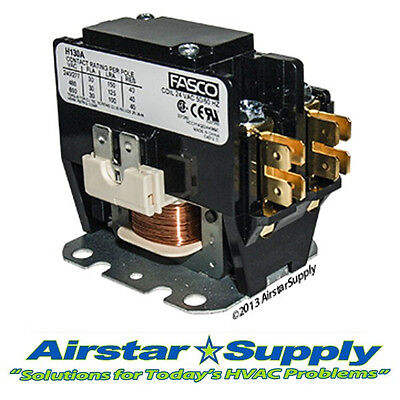 Goodman Replacement Contactor - 1 Pole 30 Amp 24v Coil - Compressor Motor