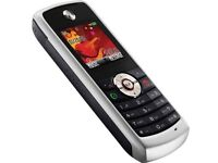 Motorola YUVA W230 UNLOCKED MobilePhone SILVER&WHITE Ear Pieces-DATA Cable- UK Charging Plug NEW