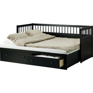 IKEA HEMNES DAY BED / Trundle bed with storage