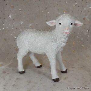 Gartenfigur Lamm 4163 Schaf Haus Garten Deko lebensecht Figur