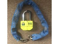 Boss Oxford Alarm lock and chain only 20£