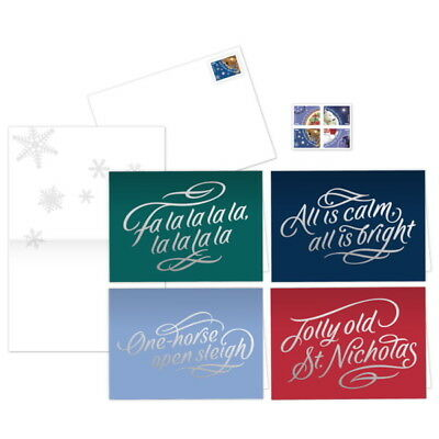 USPS New Christmas Carol Notecards