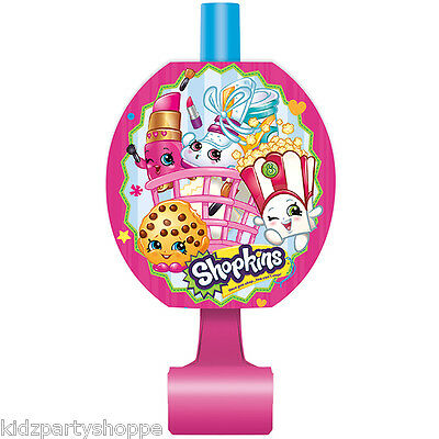 SHOPKINS BLOWOUTS Blowers Birthday Party Supplies Loot Bag Favors Rewards