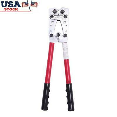 Wire Terminal Crimping Tool 6-50mm Cable Lug Crimper Cual Terminal Plier Red