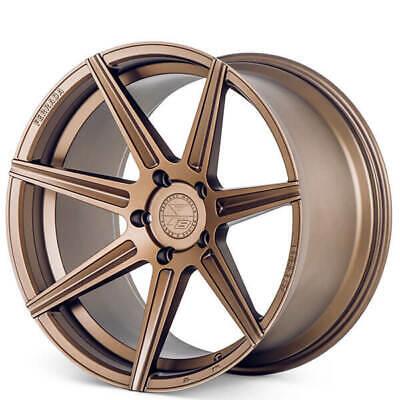 """20"""" Staggered Ferrada Wheels F8-FR7 Matte Bronze Fits Maserati Ghibli(Qty 4)"""