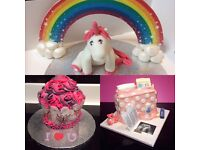 Custom made celebration cakes