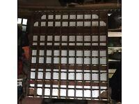 Vintage Industrial Pigeon Hole Storage Racking Shelving Wooden Display Retail Restaurant