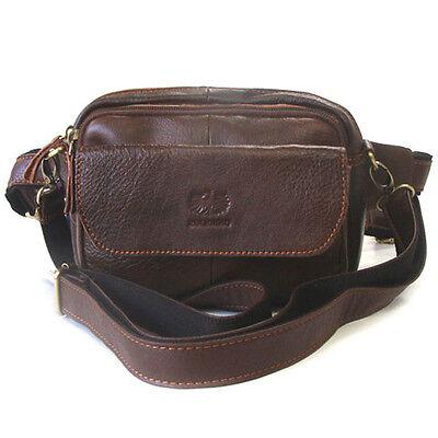 NEW Brown Messenger Shoulder Bag Fanny Waist Pack Passport Bag Travel Bag