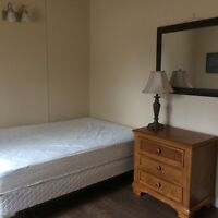 Furnished room off university cres. Month to month