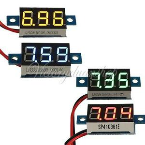 3-30V-LED-VOLTMETRO-PANNELLO-DIGITALE-Display-Panel-Digital-Voltmeter-Car-Motor