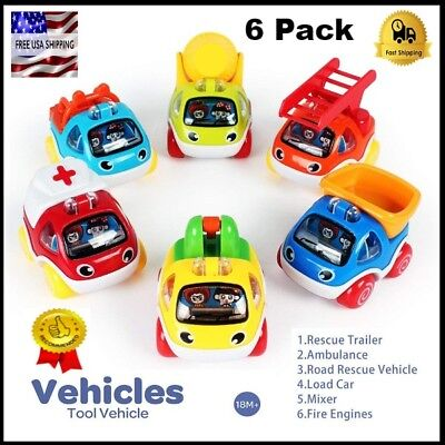 Pull Back Cars toy for Toddlers boys age 2 3 4 year old Easy