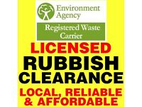 RUBBISH rubble & ASBESTOS SHEET clearance Demolitions, cheaper than skip hire, waste in Portsmouth