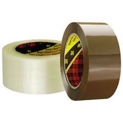 """36 Rolls Of 2"""" BROWN SCOTCH 3M Packaging Tape - SIZE 48mm x 66m"""