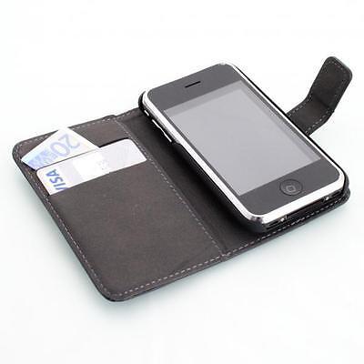 Apple iPhone 3G 3GS handy tasche case Brieftasche Wallet klapp schutz hülle 3g 3gs Iphone