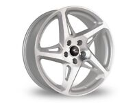 "18"" Silver River R4 Alloy wheels & tyres Tyres. Suit Audi A3,VW MK 5,6,7 Golf, Caddy,Seat (5x112)"