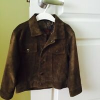 Danier suede leather jacket for boys