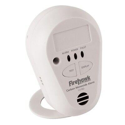 Firehawk Carbon Monoxide Alarm Detector CO7B 10yr long life lithium battery bnib