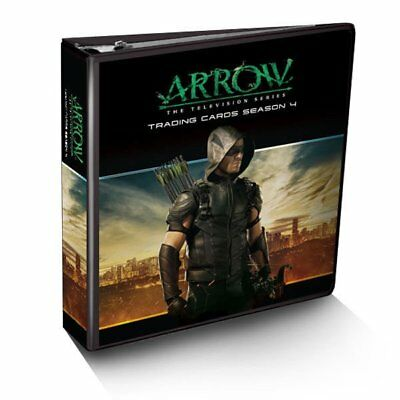 Arrow Season 4 CRYPTOZOIC Binder w/ Exclusive Wardrobe & Prop Card  - IN STOCK!