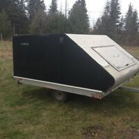 North Trail double enclosed trailer for sale in Peterborough