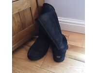 Black Ugg Boots Size 6.5