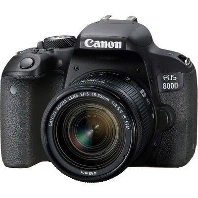 Canon EOS 800D DSLR Camera w/ 18-55mm IS STM Lens