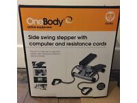Exercise Fitness Stepper with Resistance Cords - £25 - Barely Used